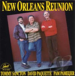Sancton, Tony - New Orleans Reunion CD Cover Art
