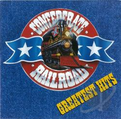 Confederate Railroad - Greatest Hits CD Cover Art