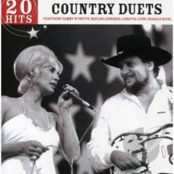 Country Duets:20 Hits CD Cover Art