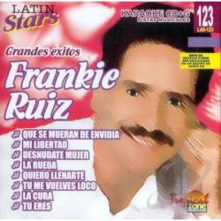 Ruiz, Frankie - Karaoke Latin Stars CD Cover Art