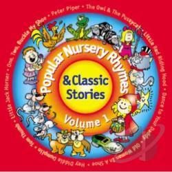 Shelia Southern - Popular Nursery Rhymes & Classic Stories, Vol. 1 CD Cover Art