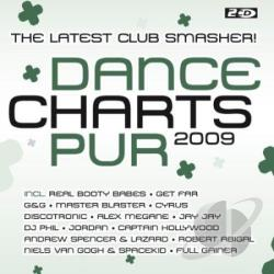 Dance Charts Pur 2009 CD Cover Art