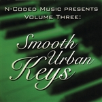 N-Coded Music - N-Coded Music Presents Volume Three : Smooth Urban Keys DB Cover Art