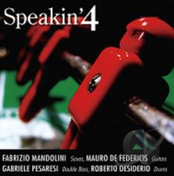 F. Mandolini / M. De Federicis / P - Speakin'4 CD Cover Art