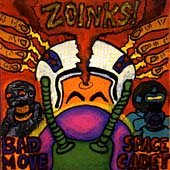 Zoinks! - Bad Move Space Cadet CD Cover Art