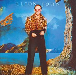 John, Elton - Caribou CD Cover Art