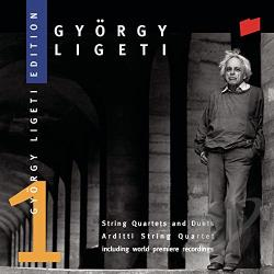Arditti String Quartet / Ligeti - Ligeti: String Quartets and Duets CD Cover Art