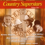 Country Superstars, Vol. 2 CD Cover Art