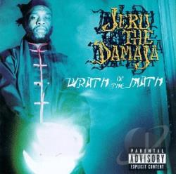 Jeru The Damaja - Wrath of the Math CD Cover Art