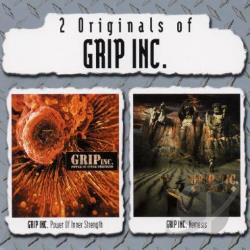 Grip Inc. - Power of Inner Strength/Nemesis CD Cover Art