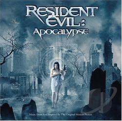 Resident Evil: Apocolypse CD Cover Art