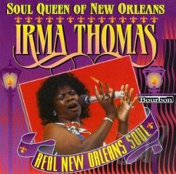 Thomas, Irma - Soul Queen of New Orleans CD Cover Art