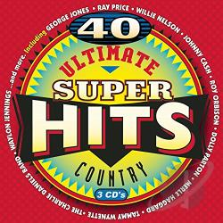 Ultimate Country Super Hits CD Cover Art