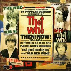 Who - Then and Now: 1964-2004 CD Cover Art
