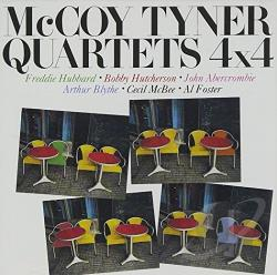 Tyner, Mccoy / Tyner, Mccoy Quartet - 4 X 4 CD Cover Art