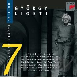 Gawriloff / Neunecker - Ligeti: Chamber Music CD Cover Art
