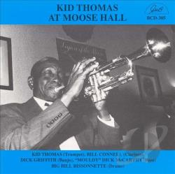 Thomas, Kid - Kid Thomas at Moose Hall CD Cover Art