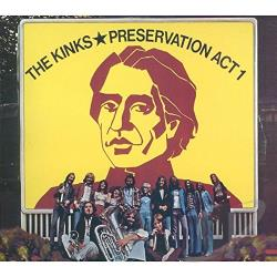 Kinks - Preservation: Act 1 SA Cover Art