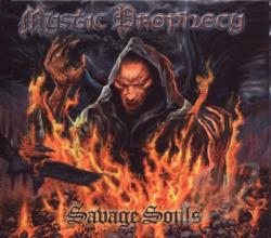 Mystic Prophecy - Savage Souls & Satanic Curses CD Cover Art