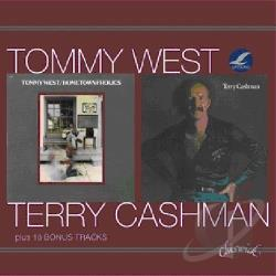 Cashman, Terry / West, Tommy - Hometown Frolics/Terry Cashman CD Cover Art