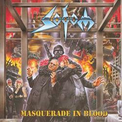 Sodom - Masquerade in Blood CD Cover Art