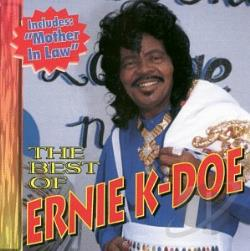 K-Doe, Ernie - Best of Ernie K-Doe CD Cover Art