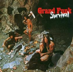 Grand Funk Railroad - Survival CD Cover Art