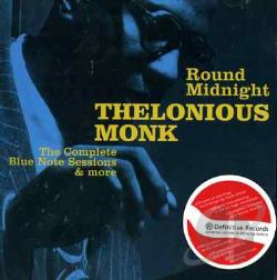 Monk, Thelonious - 'Round Midnight CD Cover Art