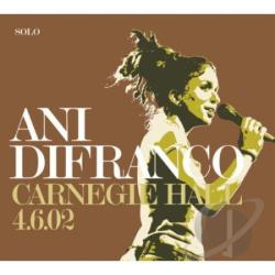 Difranco, Ani - Carnegie Hall 4-6-02 CD Cover Art