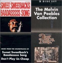 Van Peebles, Melvin - Melvin Van Peebles Collection CD Cover Art