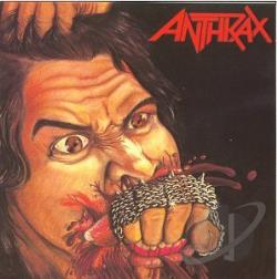 Anthrax - Fistful of Metal CD Cover Art