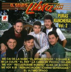 El Grupo Libra - Puras Rancheras, Vol. 2 CD Cover Art