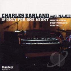 Earland, Charles - If Only for One Night CD Cover Art
