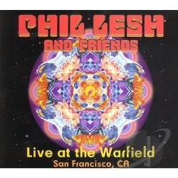Lesh, Phil - Live at the Warfield CD Cover Art