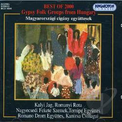 Best of 2000: Gypsy Folk Groups from Hungary CD Cover Art