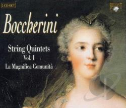 La Magnifica Comunita - Boccherini: String Quintets, Vol. 1 CD Cover Art