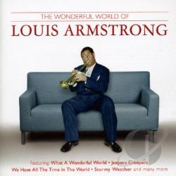 Armstrong, Louis - Wonderful World of Louis Armstrong CD Cover Art