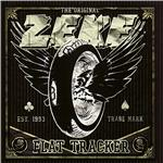 Zeke - Flat Tracker CD Cover Art