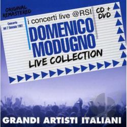 Modugno, Domenico - Live Collection CD Cover Art