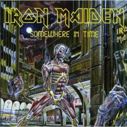 Iron Maiden - Somewhere in Time CD Cover Art