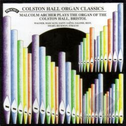 Archer, Malcolm - Colston Hall Organ Classics CD Cover Art