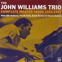 Williams, John Trio - Complete Master Takes 1954 CD Cover Art