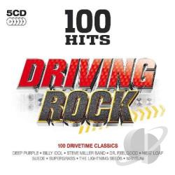 100 Hits: Driving Rock CD Cover Art
