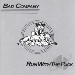 Bad Company - Run with the Pack CD Cover Art