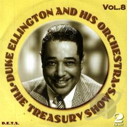 Ellington, Duke - Treasury Shows, Vol. 8 CD Cover Art