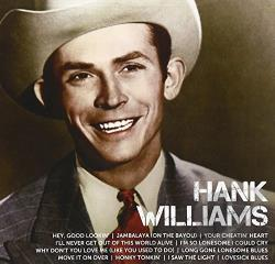 Williams, Hank - Icon CD Cover Art