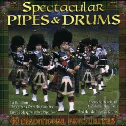 Spectacular Pipes & Drums CD Cover Art