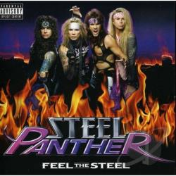 Steel Panther - Feel the Steel CD Cover Art