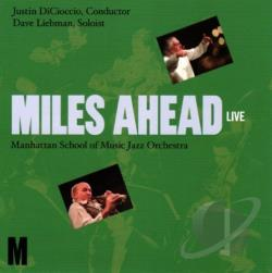 Liebman, David - Miles Ahead: Live CD Cover Art
