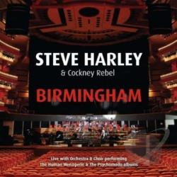 Harley, Steve / Harley, Steve & Cockney Rebel - Birmingham: Live with Orchestra & Choir CD Cover Art
